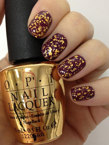 Opi Skyfall collection: Man with the Golden Gun