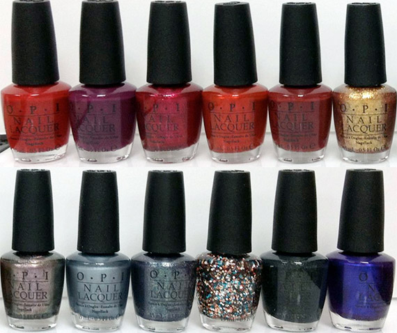 Opi Skyfall James Bond nail polish