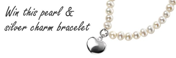 Competition: win a silver and pearl charm bracelet