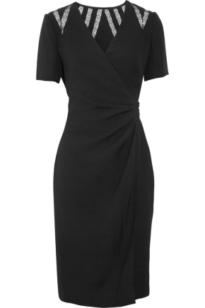 Black Wrap Dress on Great Little Black Dress For Apple Figured Girls