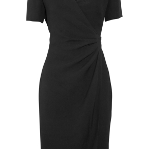 Black Wrap Dress on Great Little Black Dress For Apple Figured Girls