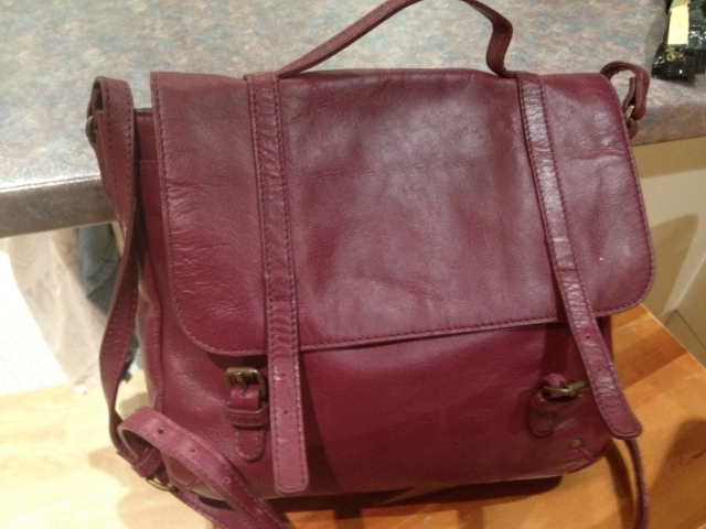 Purple John Lewis Handbag 'weekend' collection